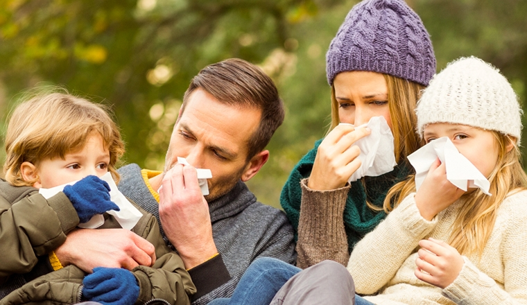 Conseils traitement et soin rhume famille