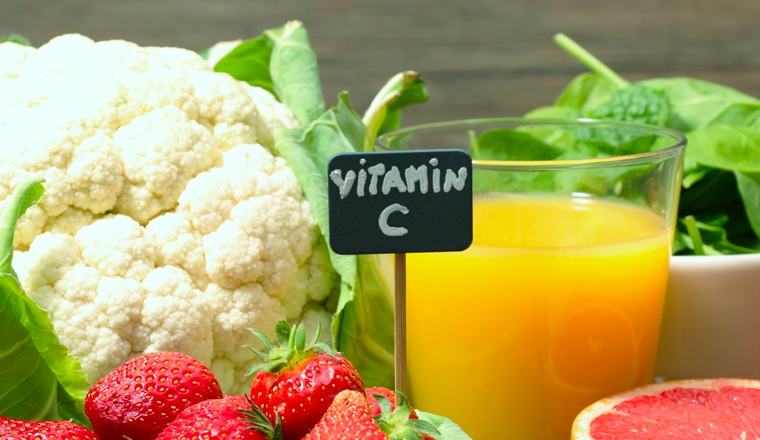 vitamine C plantes et ingredients