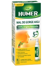 HUMER MAL DE GORGE AIGU SPRAY