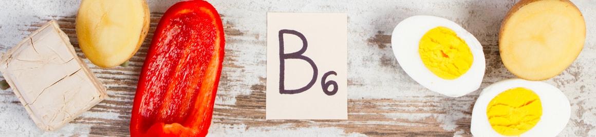 Vitamine B6 plantes et ingrédients